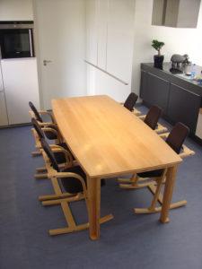 tafel Beuken drie lagenplaat