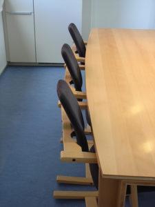 Tafel beuken drie lagen plaat