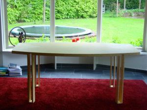 conferentietafel bamboe