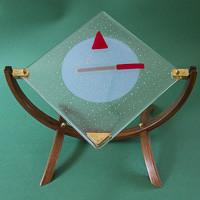 Drager Moreel Kompas glaspaneel fusing